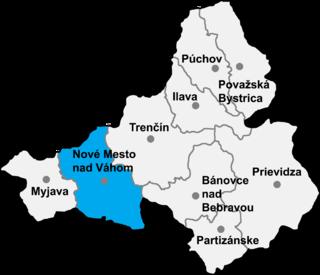 Lubina municipality in western Slovakia