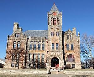 Arkansas City, Kansas - Old Arkansas City High School (2013)