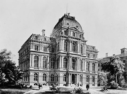 The Old City Hall was home to the Boston city council from 1865 to 1969. Old City Hall (Boston).jpg
