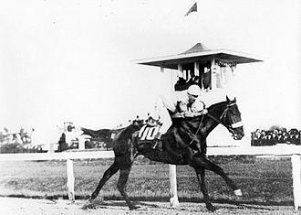 1914 Kentucky Derby - Old Rosebud winning the 1914 Kentucky Derby