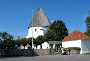 Sankt Ols Kirke - Sankt Ols Kirke, Bornholm