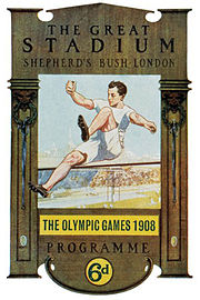 Description de l'image Olympic games 1908 London.jpg.