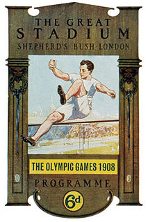 1908 Summer Olympics Games of the IV Olympiad, celebrated in London (United Kingdom) in 1908