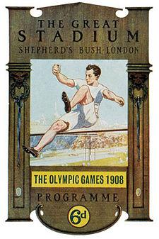 Affiche des Jeux de la IVe Olympiade.