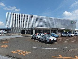 Ōmagari Station (Akita) - Ōmagari Station in September 2013