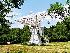 Ondřejov Observatory - Image: Ondřejov Astro Solar radio telescope 1