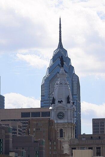 English: Two of Philadelphia's former highest ...