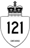 Highway 121 shield