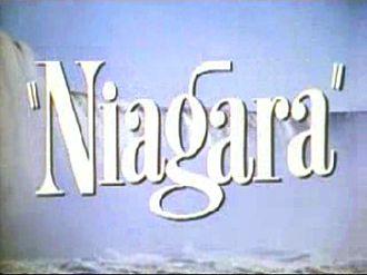 Niagara (film) - Opening title