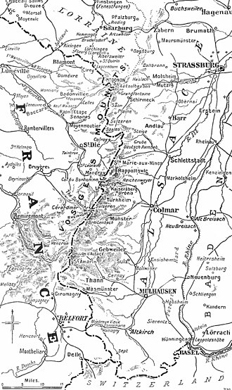 Battle of Mulhouse - Operations in Alsace, 1914