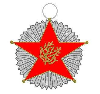 Order of Merit (Lebanon) - Image: Orde van Verdienste Libanon kleinood