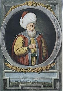 Orhan bey of the nascent Ottoman Empire
