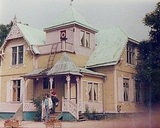 Villa Villekulla fictional home of Pippi Longstocking