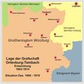 Ortenburg-Tambach Karte Dez1806-1810.png