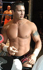 Randy Orton, who challenged Rey Mysterio for his WrestleMania 22 world championship match.