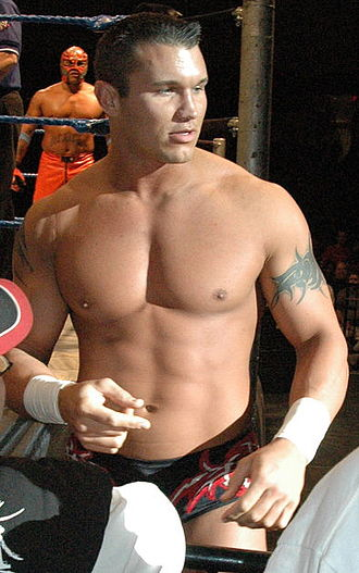 Randy Orton - Orton at a WWE house show in 2005