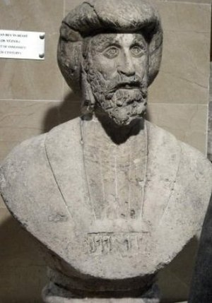 Osman I - 18th century bust of Osman Gazi