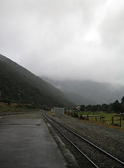 The Otira railway station