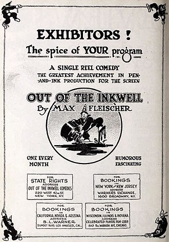 Out of the Inkwell - Advertisement