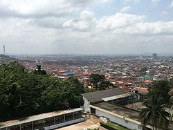 Overlooking Ibadan (October 2016)