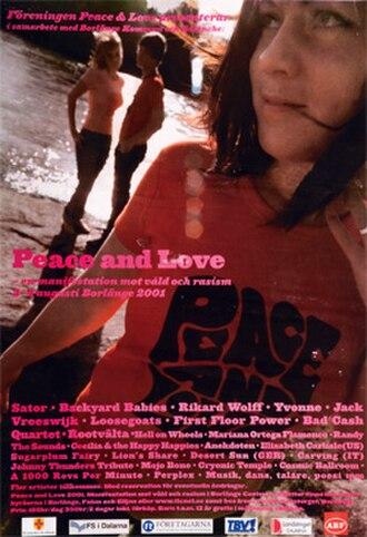 Peace & Love (festival) - Image: P&L2001
