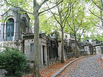 Père Lachaise Cemetery - Image: Père Lachaise Necropolis
