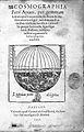 P. Apianus, Cosmographiae,..1551. Wellcome L0024101.jpg