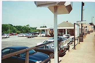Port Jefferson station (LIRR) - Image: PJ Sta 2