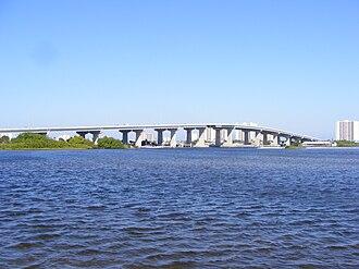 Port Orange Causeway - Image: PO Causeway 0911