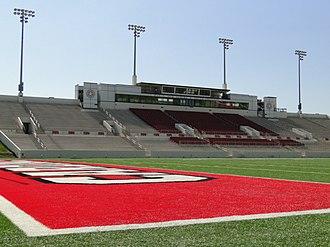 Provost Umphrey Stadium - Image: PU Stadium fieldhome