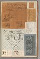 Page from a Scrapbook containing Drawings and Several Prints of Architecture, Interiors, Furniture and Other Objects MET DP372086.jpg