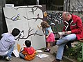 Painting canvas LWT Gunnersbury Triangle.jpg