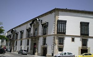 Fachada Casa de la Iglesia-Palacio Bertemati