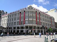 Palacio Avenida: The headquarters of HSBC Bank Brasil, located in Curitiba.