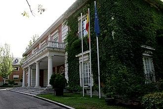 Palace of Moncloa - Northwest facade of Moncloa