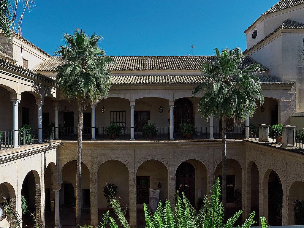 Cour du palais Marques de la Algaba à Séville - Photo de José Luis Filpo Cabana