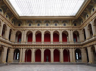 Palais Universitaire, Strasbourg - The Grand hall, or Aula