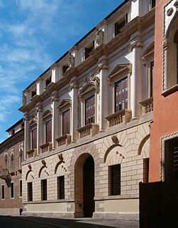 palace in Contrà Porti 21, Vicenza, Italy