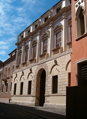 Palazzo Porto, Vicenza - Image: Palazzo Porto sett 07