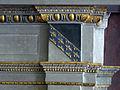 Palazzo capponi-vettori, salone poccetti, camino, stemma vettori.JPG