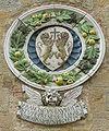 Palazzo dei priori di volterra, stemma della stufa.jpg