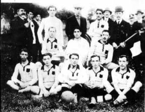 Lipton Challenge Cup - Palermo's Lipton Cup winning side of 1910.
