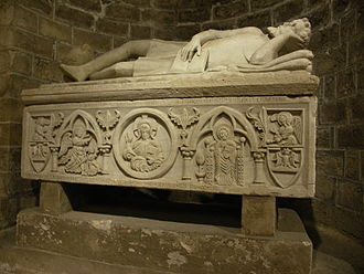 Frederick of Antioch - Frederick's sarcophagus in the Cathedral of Palermo.