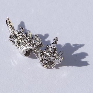 Palladium Chemical element, symbol Pd and atomic number 46