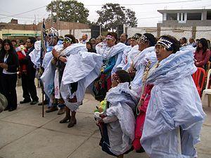Español: Fiesta Patronal de Ocros,Ancash. País...