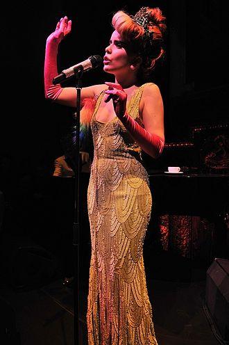 Paloma Faith - Faith performing in October 2012.