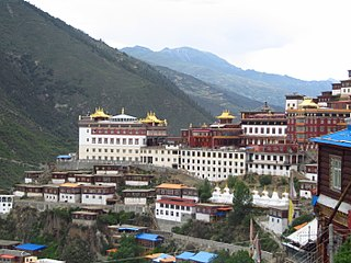 Palyul Monastery One of the six mother monasteries of the Nyingma tradition of Tibetan Buddhism