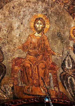 Church of Panagia Chalkeon - Fresco of 14th century