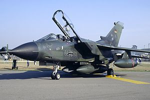 Holloman Air Force Base - Panavia Tornado of the German Air Force at Holloman