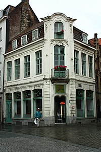 Pand en gedenkteken - Sint-jacobsstraat 1 - Brugge - 200805.JPG